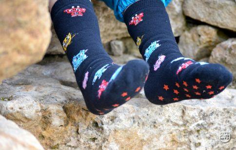 Monsterbande ABS-Socken