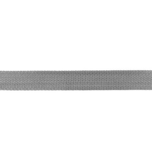 Hellgrau Gurtband 25mm