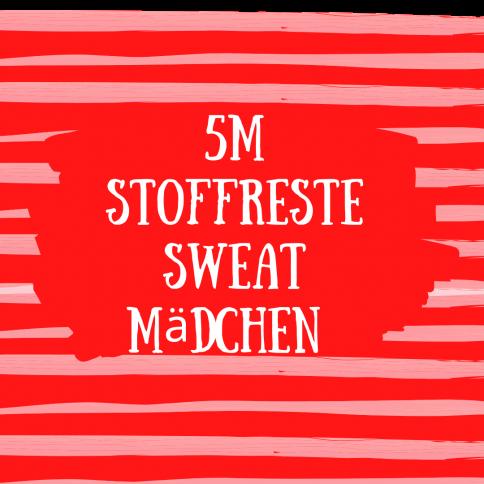 5m Sweat Stoffreste Mädchen