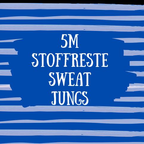 5m Sweat Stoffreste Jungs