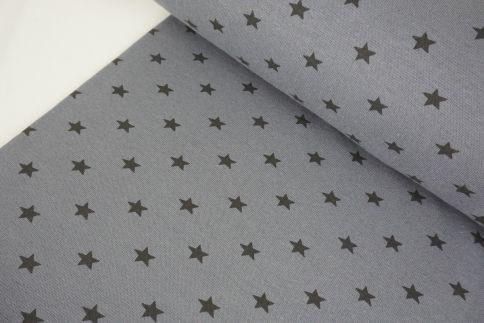 Grau Sterne Bündchen