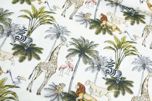 König der Löwen Palmen Baumwolle