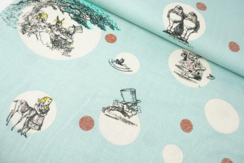 Alice im Wunderland Baumwolle