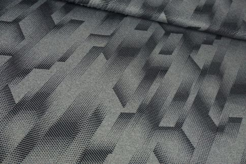 Grau/Schwarz Funktionsjersey