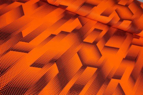 Neon/Orange Funktionsjersey
