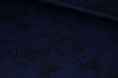 Blau/Schwarz Funktionsjersey