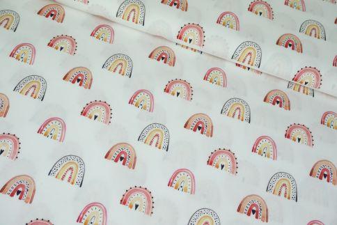 Rainbow Heart Baumwolle