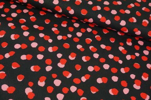 Dots rosa/pink Baumwolle
