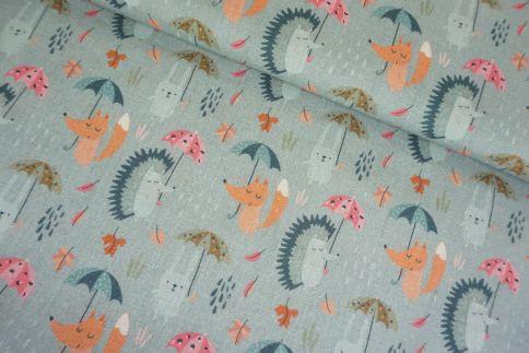 Tiere Regenschirm Baumwolle