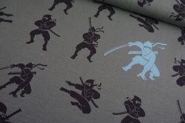 Ninja grau Jersey