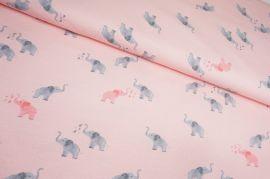 Kleine Elefanten rosa Jersey
