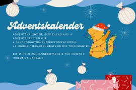 Adventskalender 4 Adventspakete Mädchen